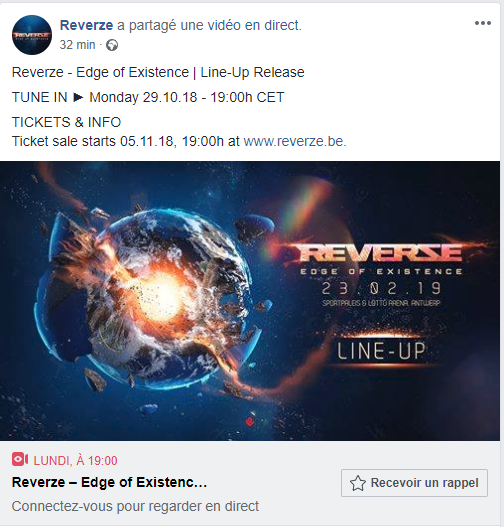 REVERZE - 22 Février 2019 - Sportpaleis/Lotto Arena - Anvers - BE Screen15