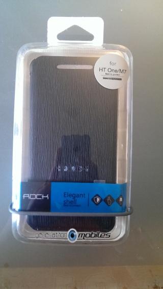 [ORDICA-STORE] Test de l'étui  Folio ultra fin noir - Rock ELEGANT pour HTC One 1imag010