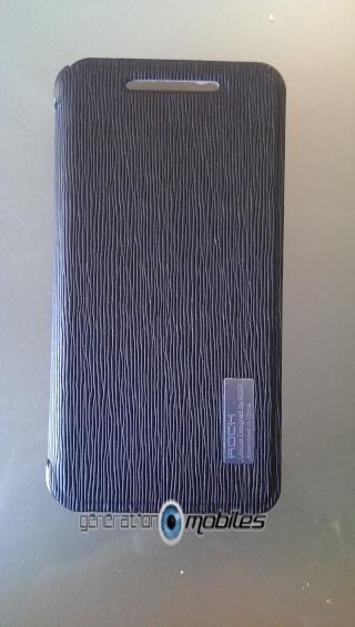 [ORDICA-STORE] Test de l'étui  Folio ultra fin noir - Rock ELEGANT pour HTC One 3imag010