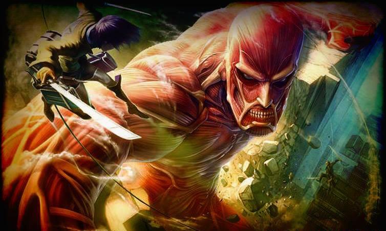 """حصرياً: جميع حلقات إنمى هجوم العمالقة shingeki no kyojin """" attack on titan"""" مترجم على مركز الخليج أسرع و أفضل من ميديافاير 60388910"""