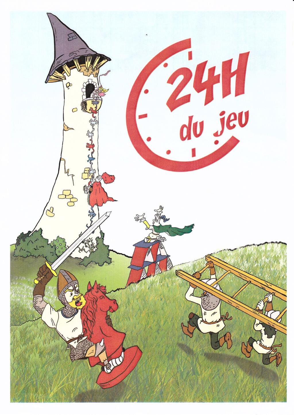 """REUNION """"24 H DU JEU"""" : le vendredi 06/07/2018. Affich10"""