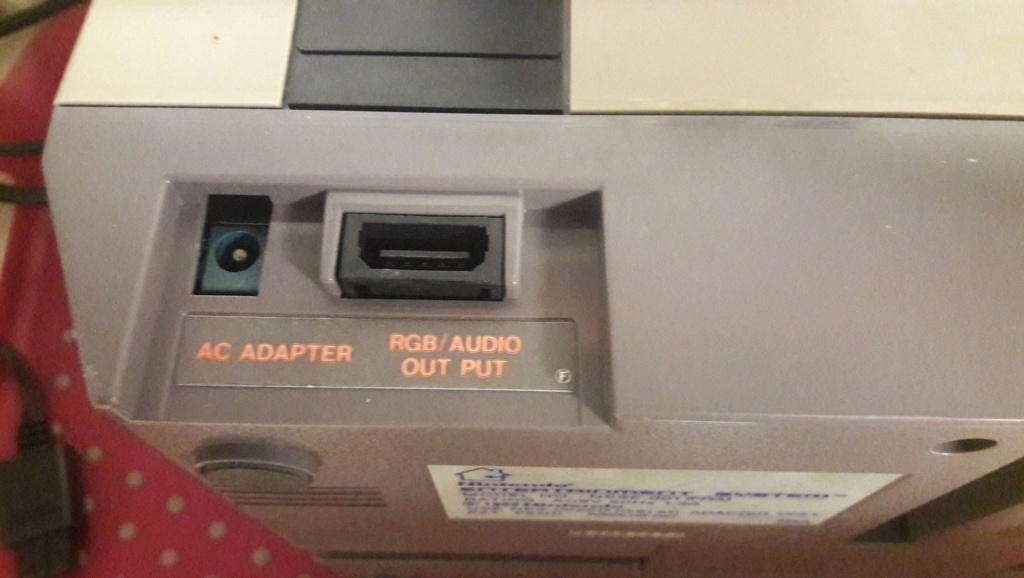 Nes RGB Output - quid câble, ... ?  10650910