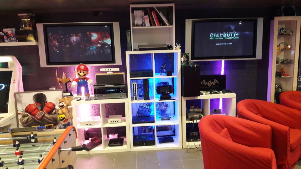Ma gameroom, arcade et crustacés! 20171010