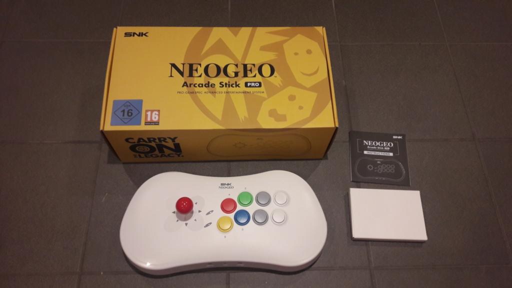 Neo Geo Arcade Stick Pro Arcade11