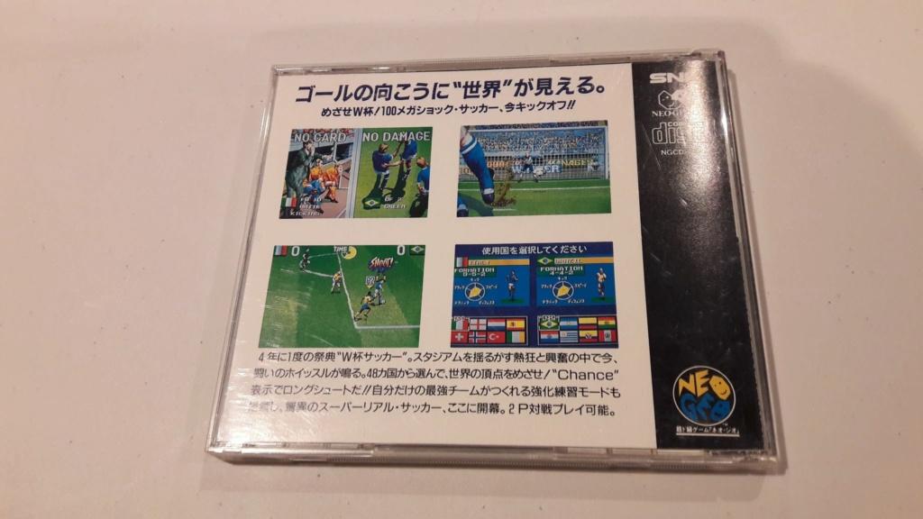 RECH-ECH Jeux AES et MVS contre jeux AES, cd, bannières gmantle, etc Back10