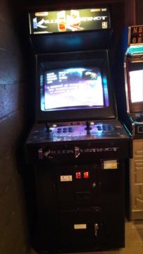 Les bornes d'arcade de Vega :  un jour, une borne! Killer10