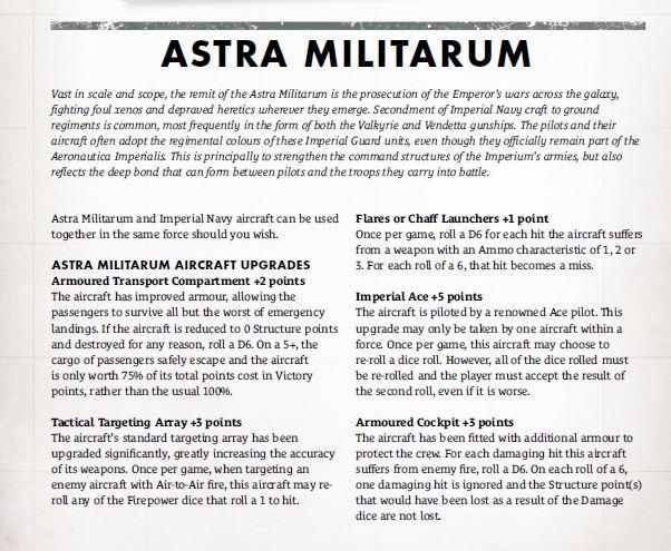 Listes des unités disponibles par Faction et unités possibles des futures extensions 121