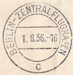 nach - Gefälschter Zeppelinbrief Oly110
