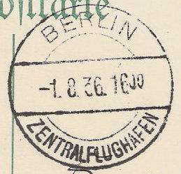 nach - Gefälschter Zeppelinbrief Oly210