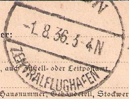 nach - Gefälschter Zeppelinbrief Oly310