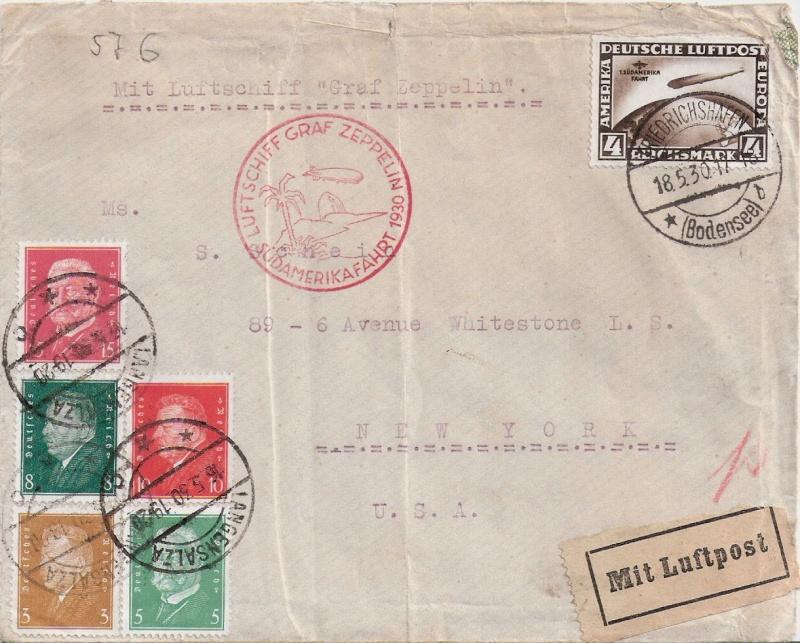Südamerikafahrt 1930, Post nach Pernambuco - Seite 2 Scanne13