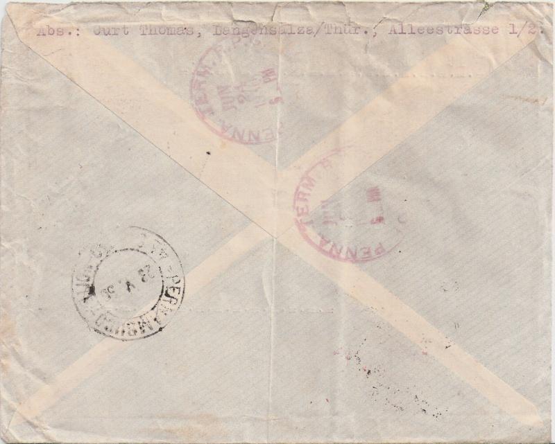 Südamerikafahrt 1930, Post nach Pernambuco - Seite 2 Scanne14