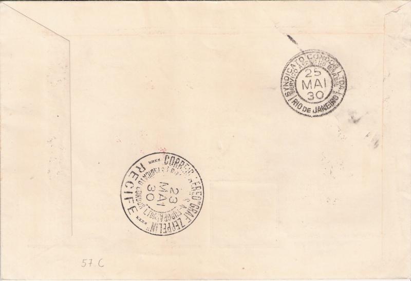 Südamerikafahrt 1930, Post nach Pernambuco - Seite 2 Scanne16