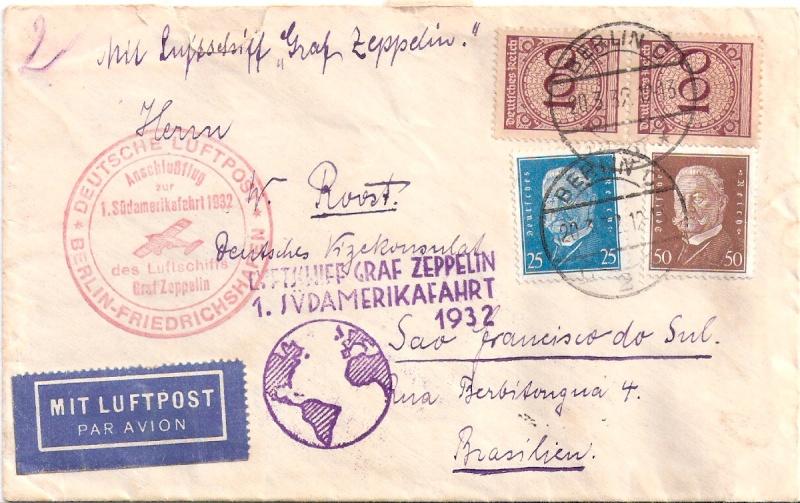 Südamerikafahrten LZ 127 1932 Scanne22
