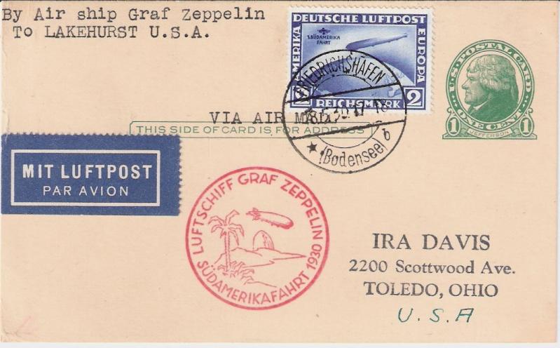 nach - Südamerikafahrt 1930, Post nach Lakehurst - Seite 2 Sieger10