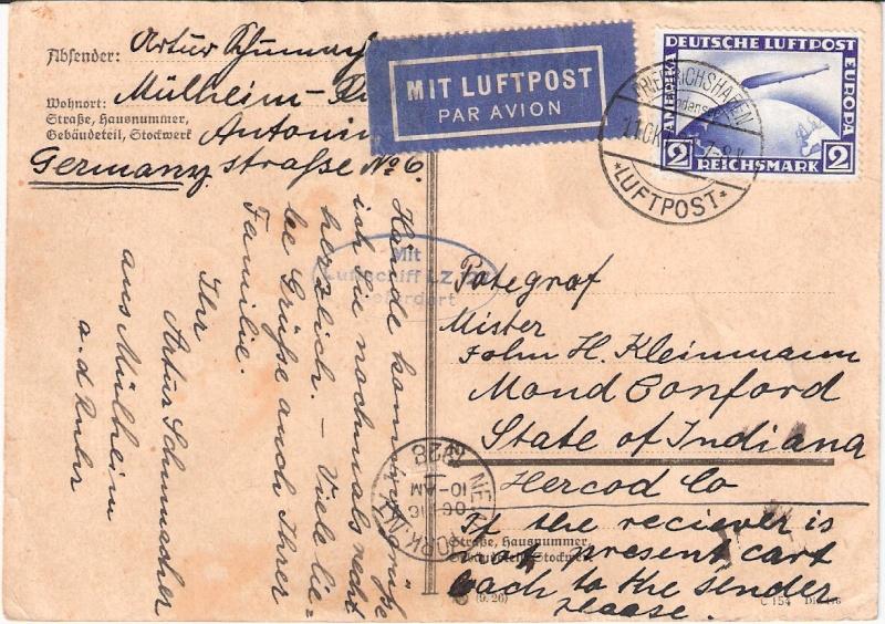 Zeppelinpost des LZ 127 - Seite 7 Sieger16