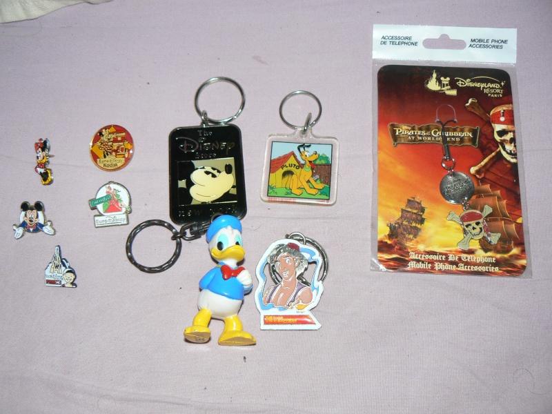 Achats brocante version Disney P1070013