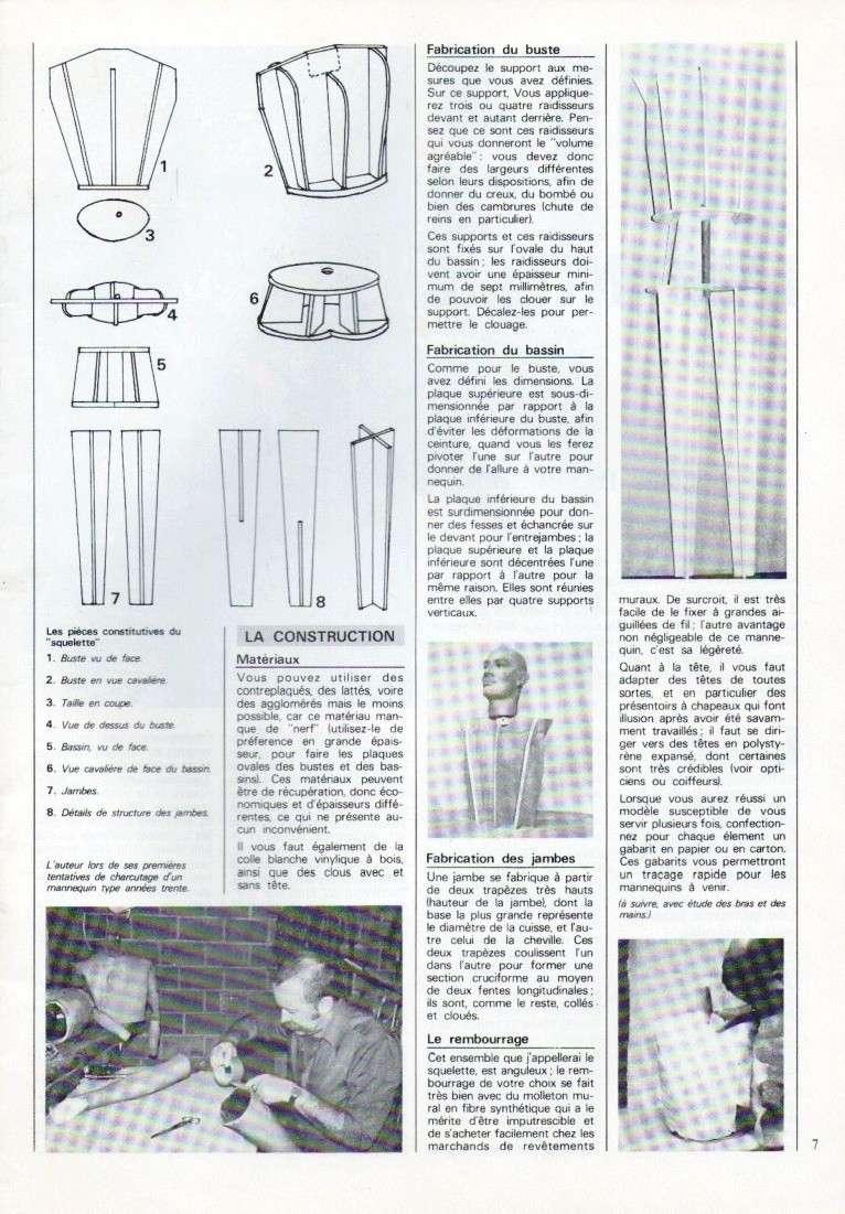 Fabriquer un mannequin en bois pour quelques euros. 21110