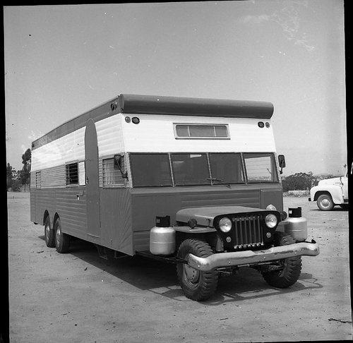 camping car vintage 37081410