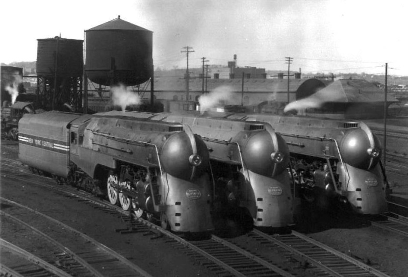 Locomotives et trains vintages 48444810