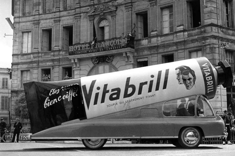 Les véhicules de la Caravane du Tour de France 1950's & 1960's - Page 2 Index-11