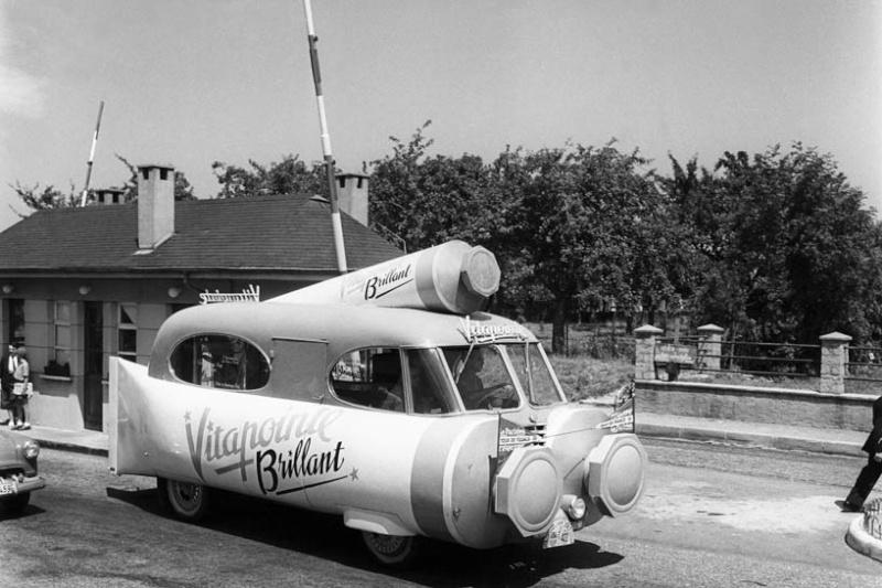 Les véhicules de la Caravane du Tour de France 1950's & 1960's - Page 2 Index-12