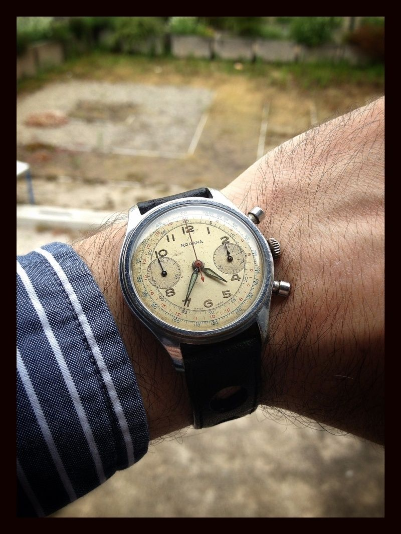 Revue d'un papy soixantenaire - Rodana Chronographe Wrists10