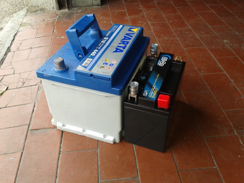 batteria leggera....very leggera ;-)..direi...una piuma 2013-030