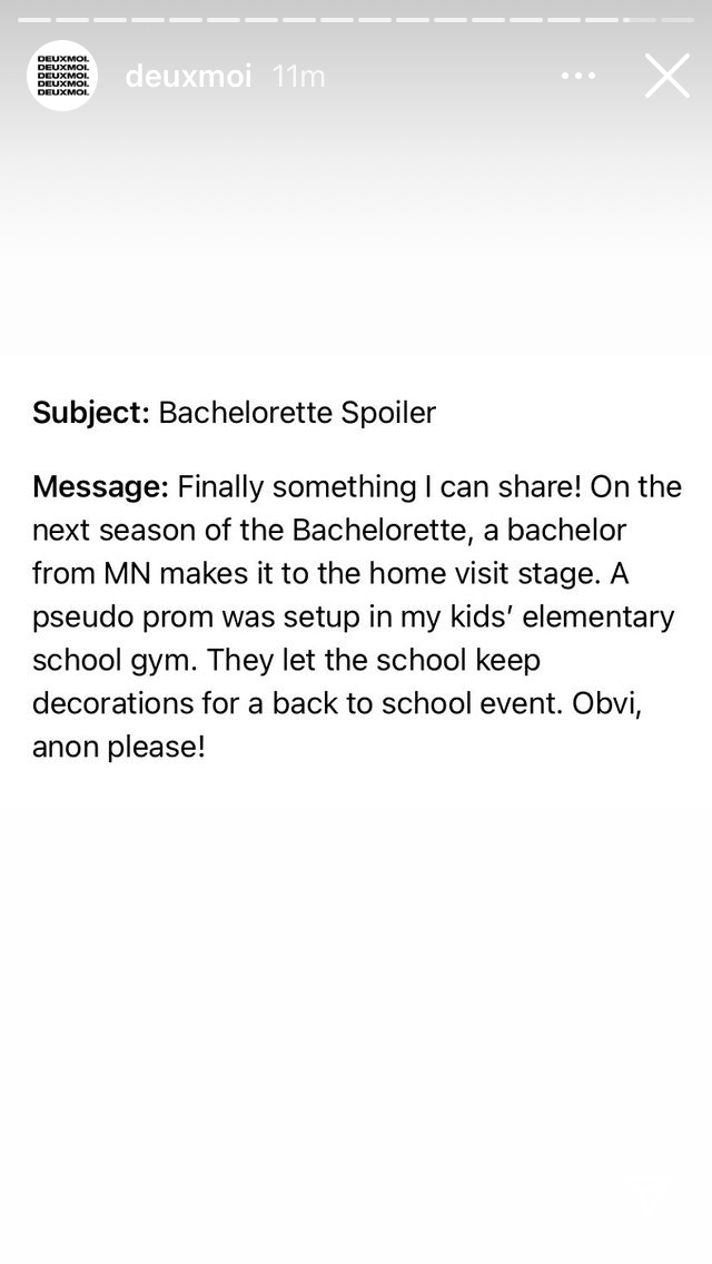 Bachelorette 18 - Michelle Young - Media SM - *Sleuthing Spoilers* - Page 21 Ce601010