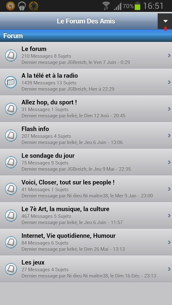 Le forum sur votre téléphone ! Screen11