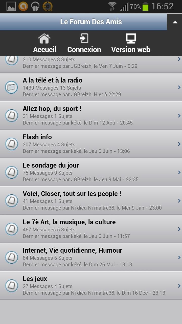Le forum sur votre téléphone ! Screen12