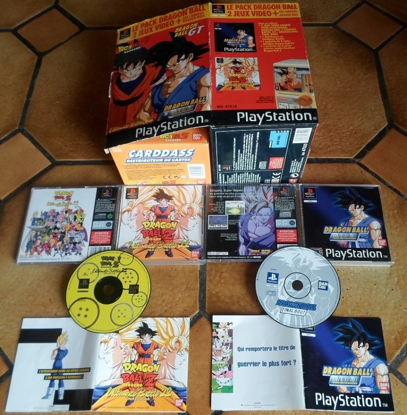 (Estim) Coffret Dragon Ball Z PS1 Pack exclusif Bandai Sam_0010