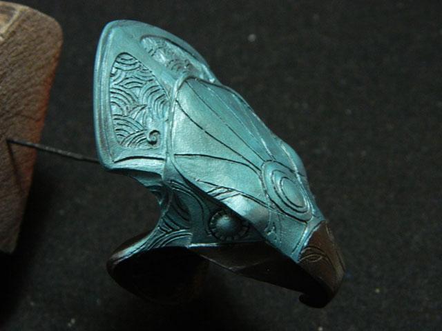 Buste 1:Horus ...mes 3 bustes stargate 1/6 la mouline69 Dscn5137