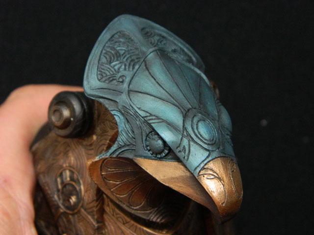 Buste 1:Horus ...mes 3 bustes stargate 1/6 la mouline69 Dscn5142