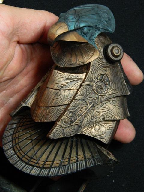 Buste 1:Horus ...mes 3 bustes stargate 1/6 la mouline69 Dscn5144