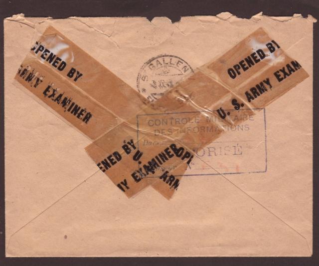 Le contrôle des informations - Censures de la Presse et de la Publication. (1945) 3000110