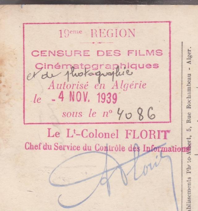 Le contrôle des informations - Censures de la Presse et de la Publication. (Algerie 1939) _1000510