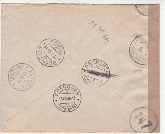 Curieux cachet postal Belge de 1945. _5_00011