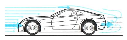 9. Aérodynamisme - A. l'effet de l'air sur la carrosserie 2_cx10