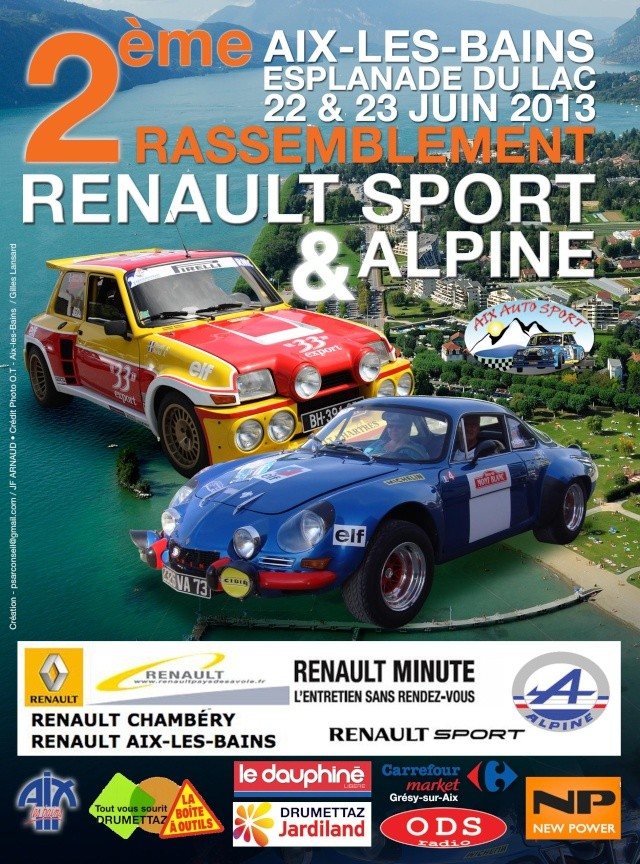 - 2e Rassemblement Renault Sport et Alpine à Aix-les-Bains - Visuel11