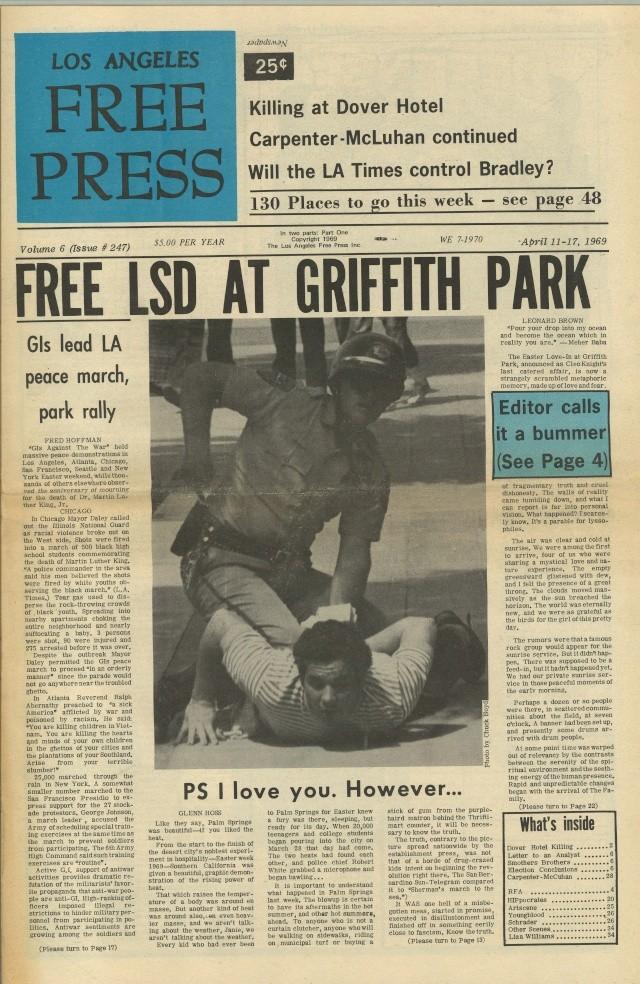 Article de Paris Match sur les hippies (Katmandou, Goa, Kaboul) Fp69-210