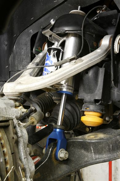 Commande groupée amortisseurs Fox Racing Hummer H3 Shocks10