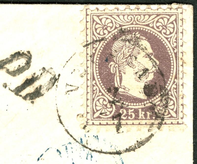 Freimarken-Ausgabe 1867 : Kopfbildnis Kaiser Franz Joseph I - Seite 2 Auslan11