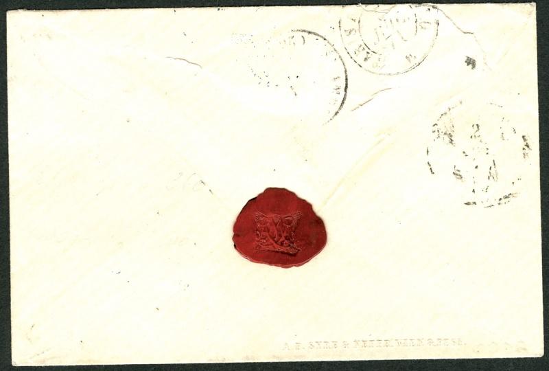 Freimarken-Ausgabe 1867 : Kopfbildnis Kaiser Franz Joseph I - Seite 2 Auslan12
