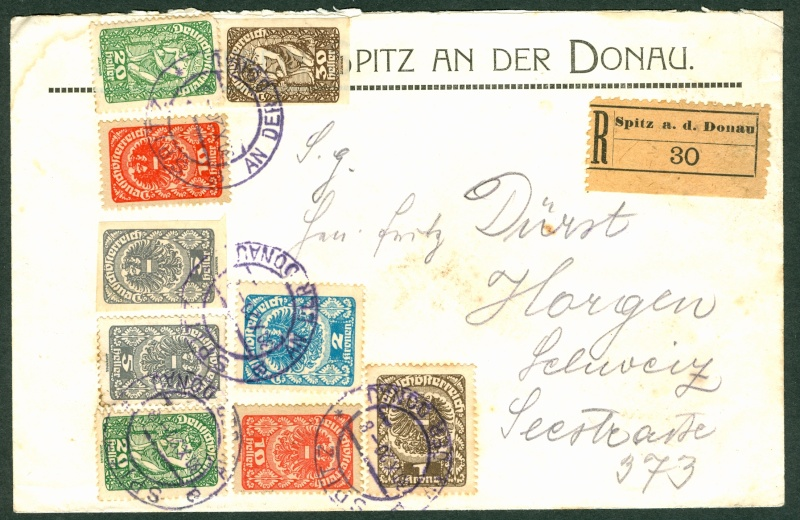 Inflation in Österreich - Belege - 1918 bis 1925 Infla-10