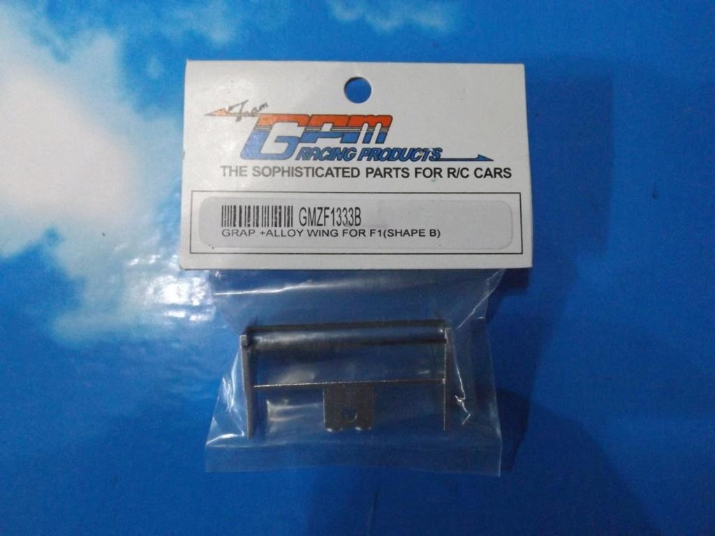 vend une F1 2,4Ghz optionnée pour la compétition et plein de piéces détachées neuves  Dscf5456