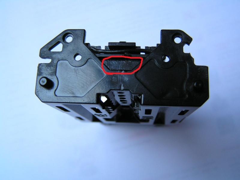 Souder les fils moteur sur la platine P3300010