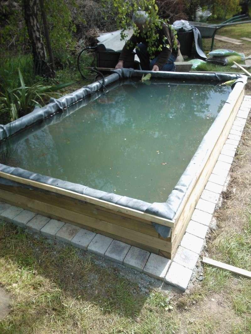 Bassin 3000L semi enterré, partie hors sol bois Wp_00116