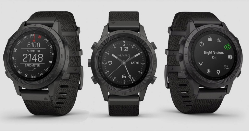 Garmin : 5 nouvelles montres connectées haut de gamme (MarQ) Garmin10