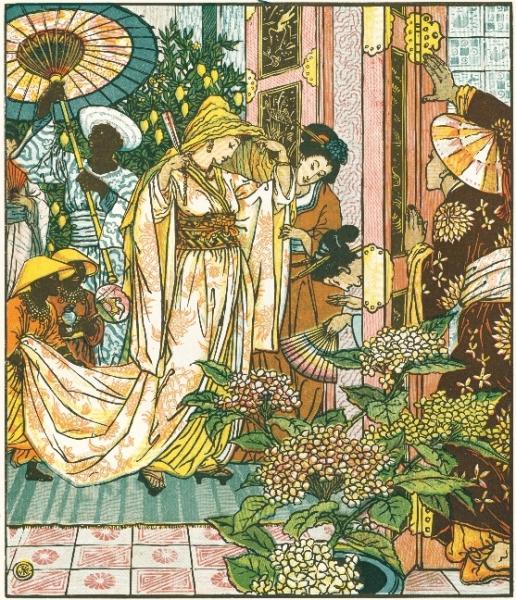 WALTER CRANE (1845-1915) Aladin10